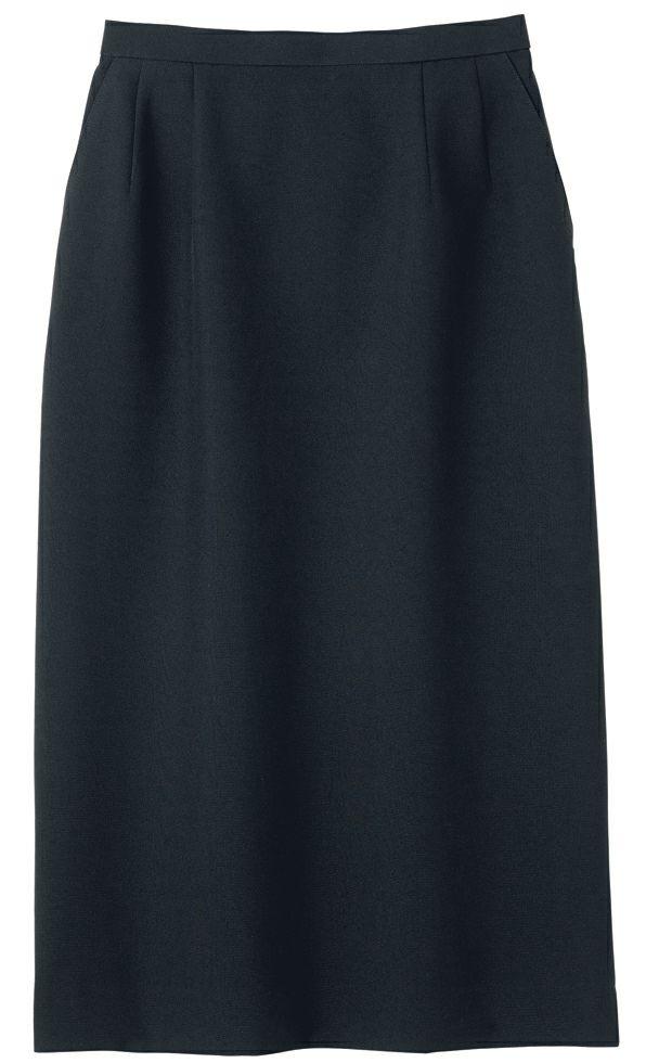 ブラック#16/【ロング丈】レディース用スカート(飲食店や店舗用ユニフォームとして大活躍!)