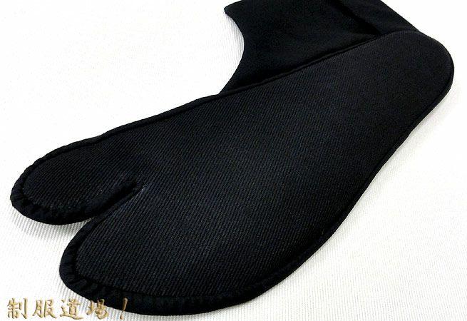 足裏は黒色で汚れが目立たない!