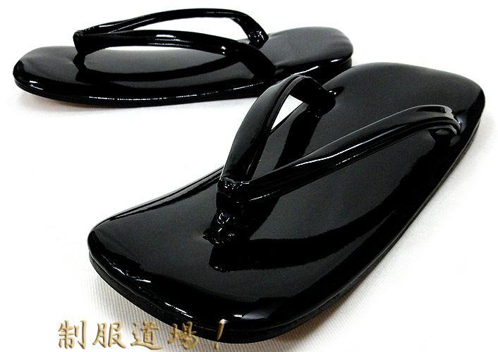 黒色の草履