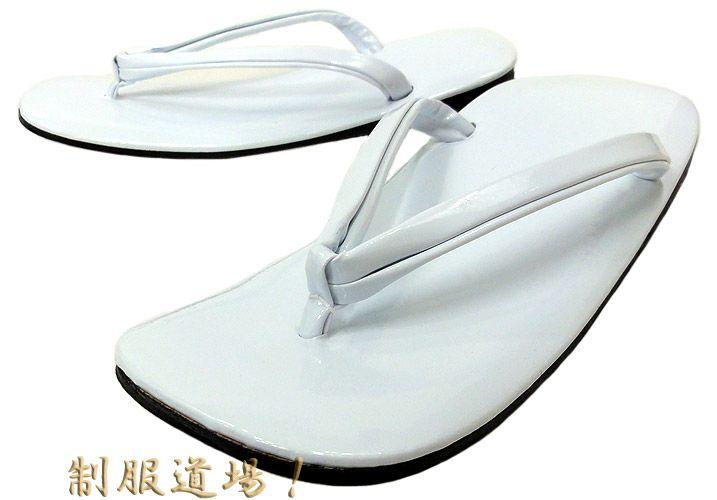 白色の草履