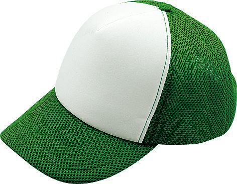グリーン×白