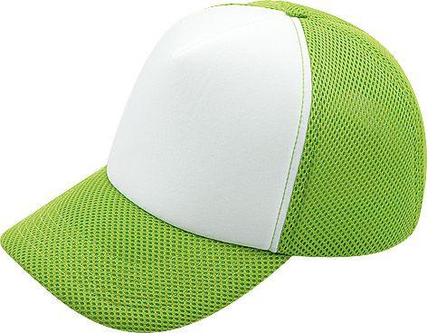 ライトグリーン×白