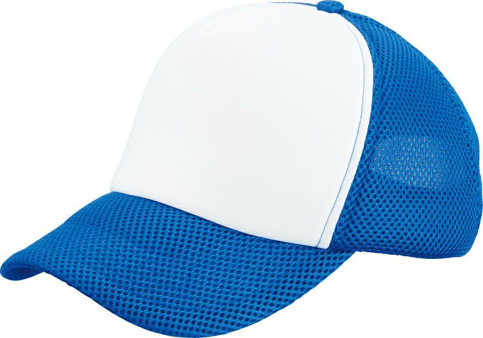 ロイヤルブルー×白