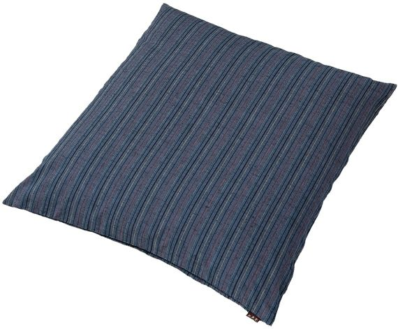 和柄の業務用座布団カバー(綿100%)紺#201