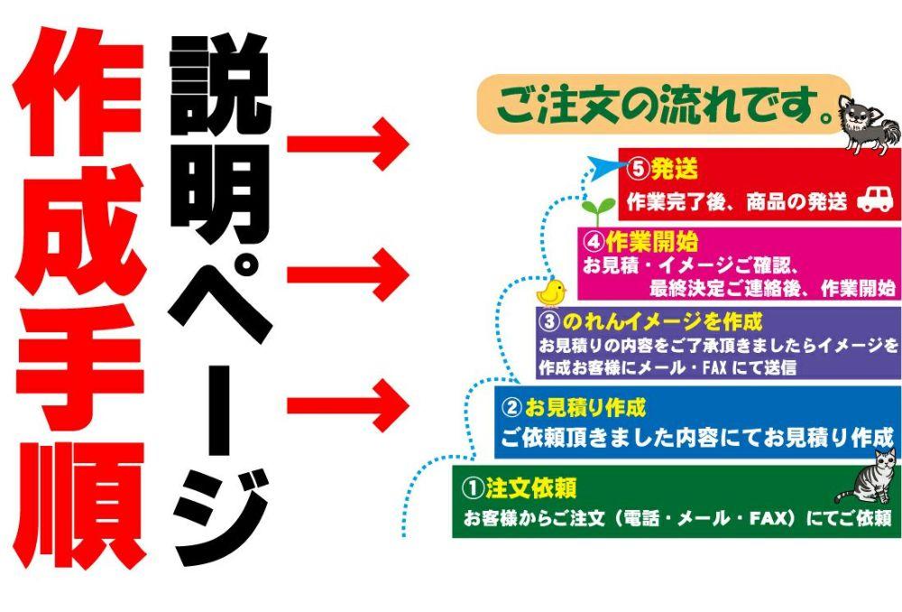 オーダー暖簾(のれん)の説明ページ