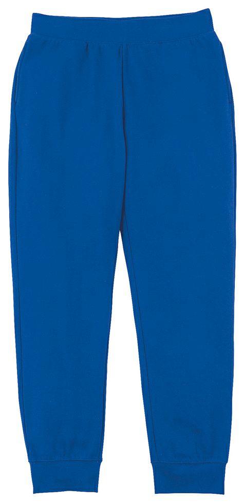 裏起毛フリースで暖かい厚手スウェットパンツ /  ロイヤルブルー#032
