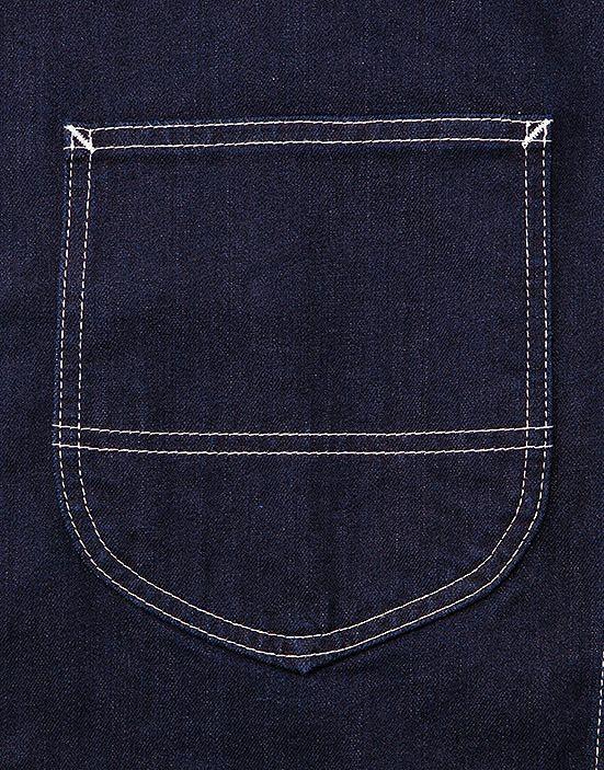 収納に便利な大きめバックポケット