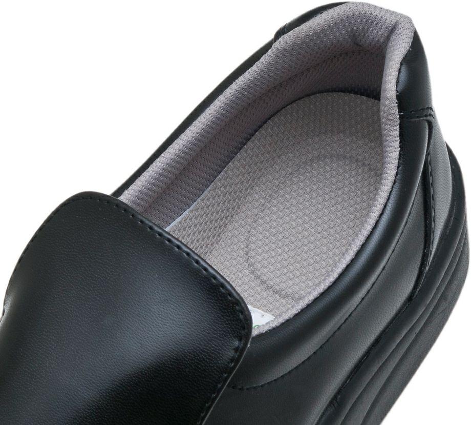 履き口部分のアップ写真