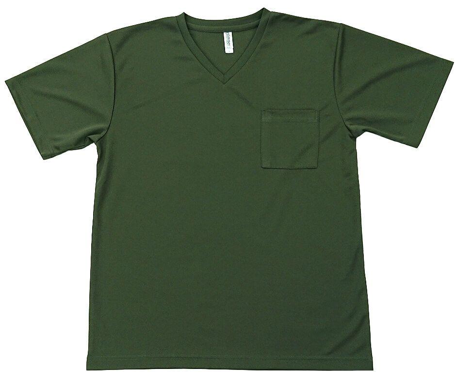 Tシャツへのポケット取付加工の写真