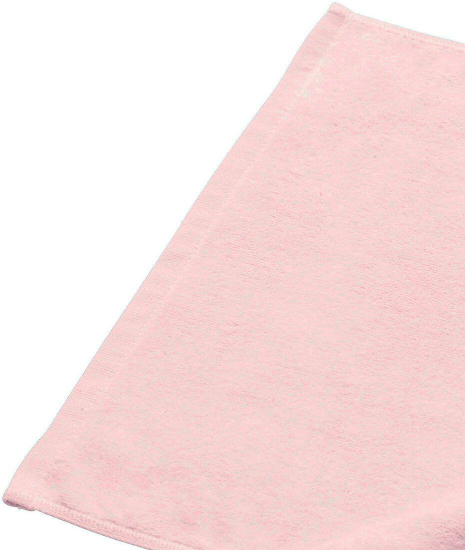 ライトピンクの生地アップ写真