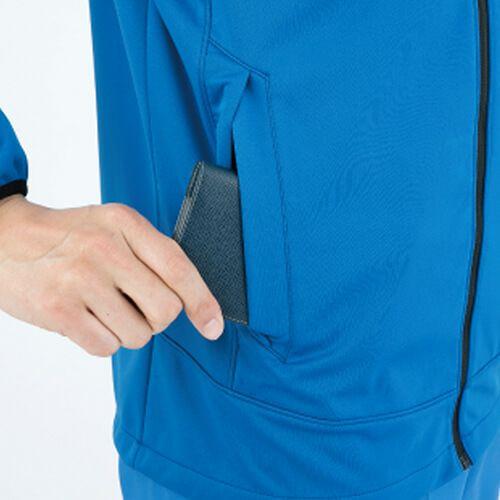 サイドポケットは物が落ちにくい設計