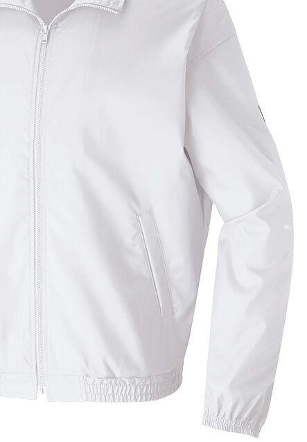 白色の袖先部分