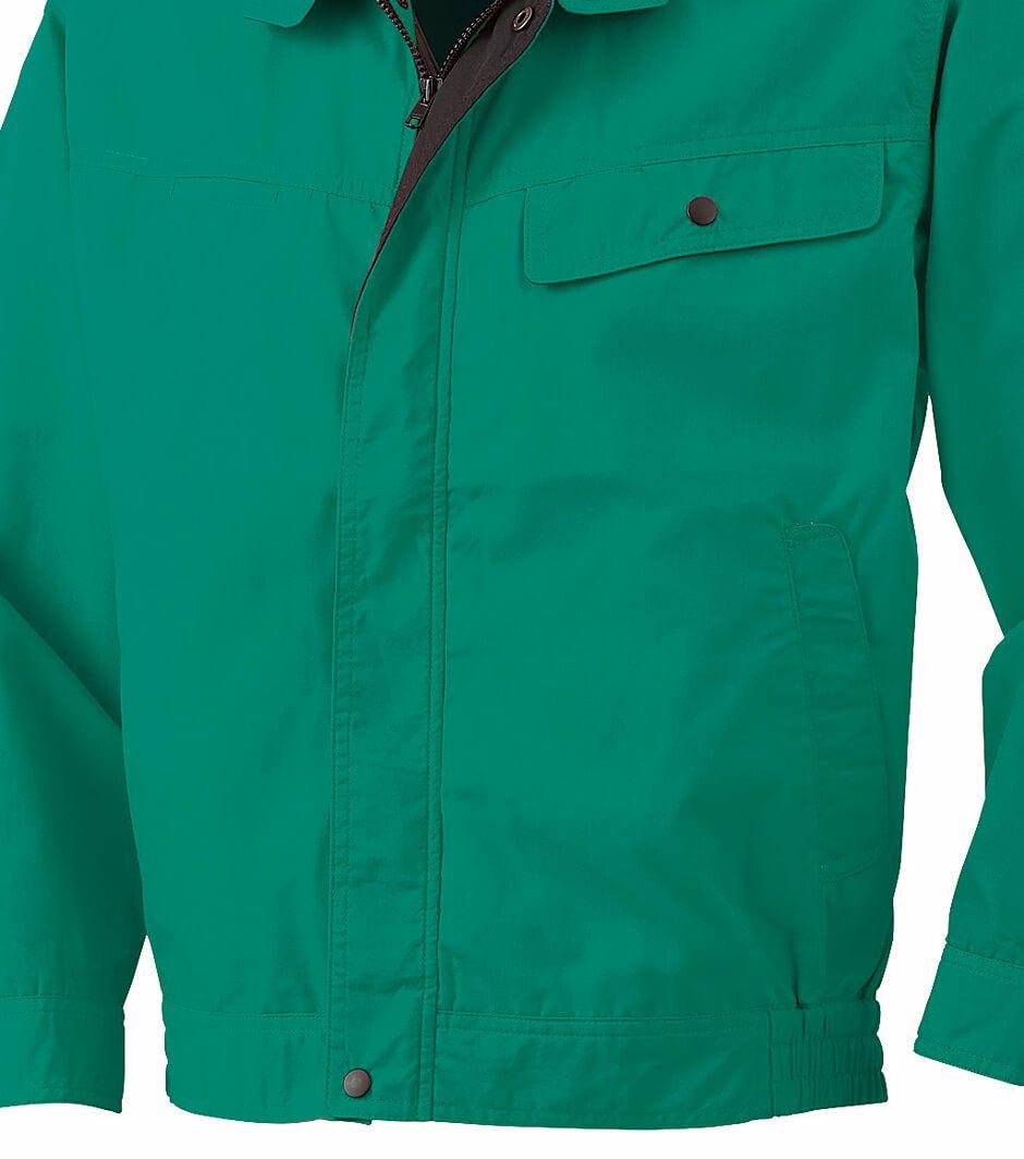 緑色のウエスト周りのアップ写真