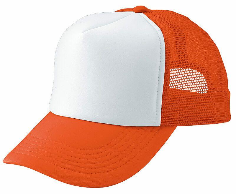 フラッシュオレンジ(蛍光)×ホワイト#063