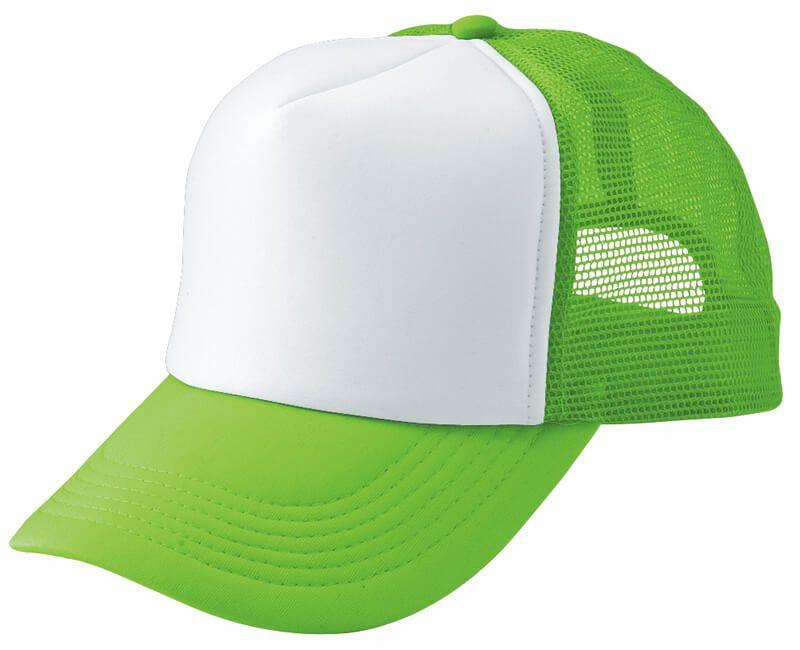 フラッシュグリーン(蛍光)×ホワイト#051