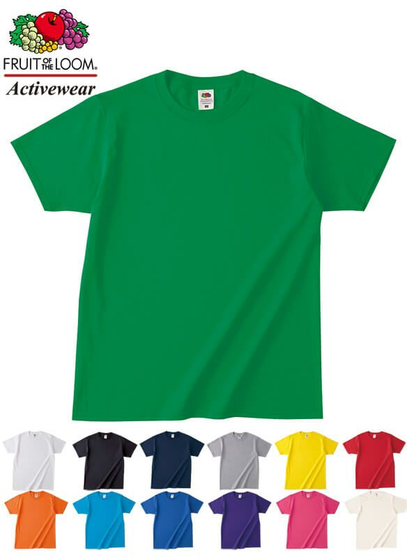 フルーツオブザルームTシャツ(綿100%・4、8オンス)