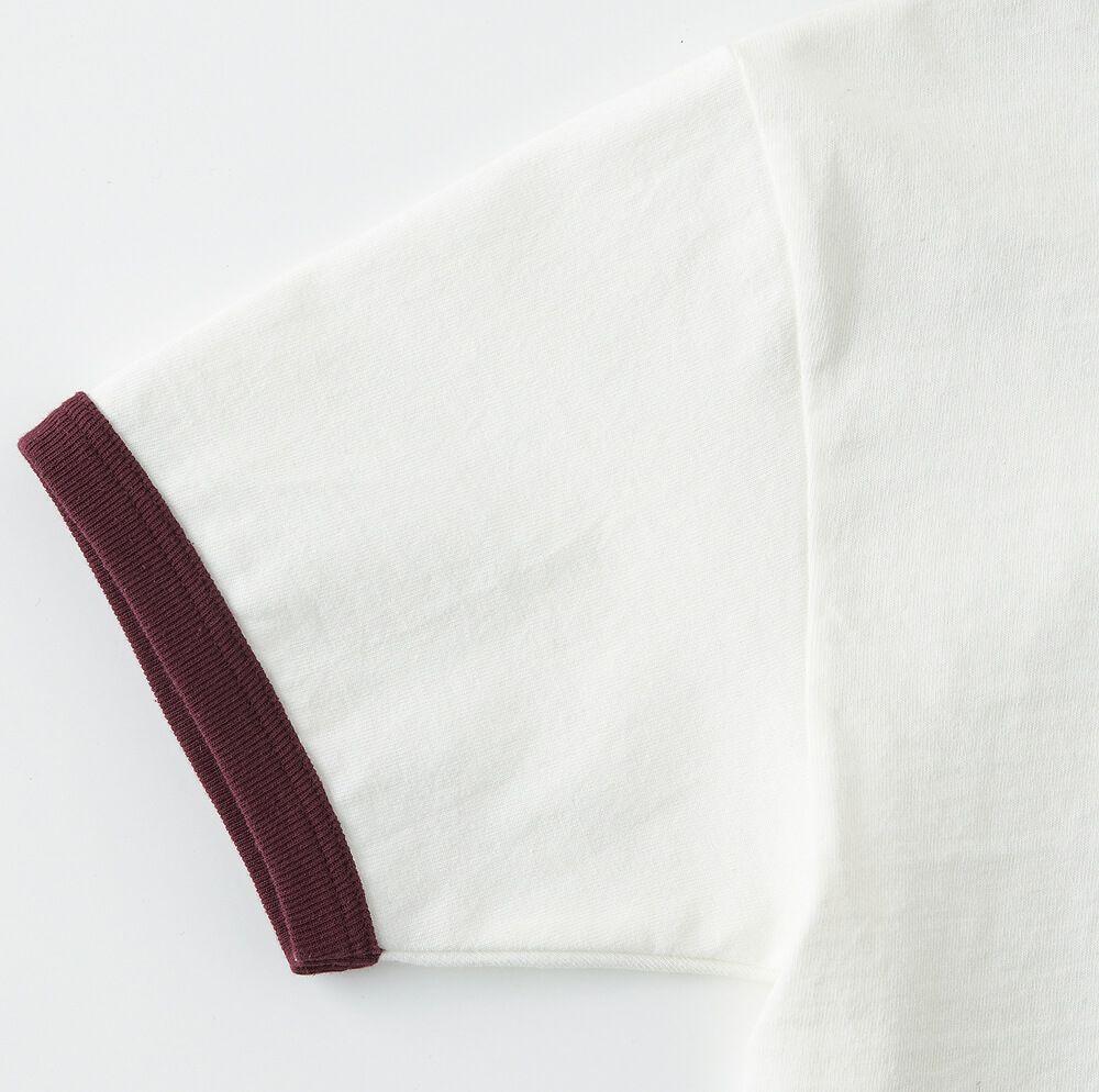 二本針バインダー仕様、袖口バインダー幅(約2cm)