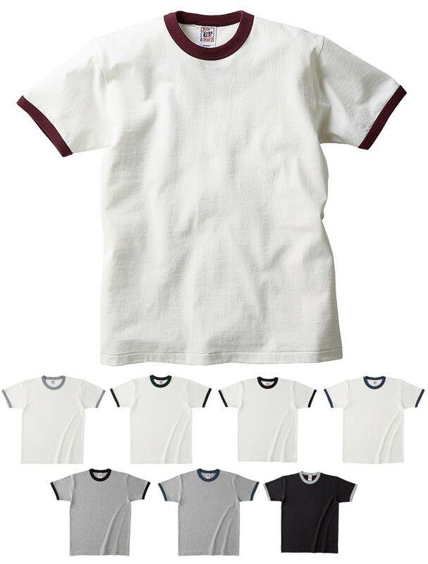 綿100%厚手リンガーTシャツ(6.2オンス)