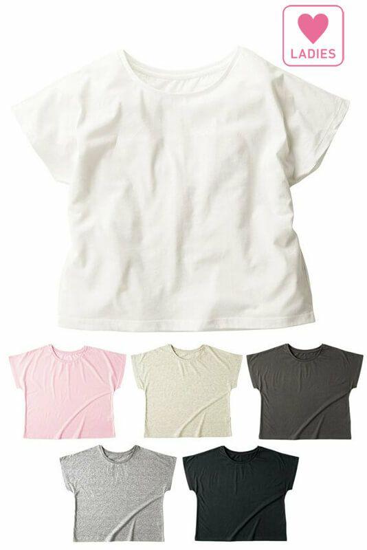 レディースドルマンTシャツ