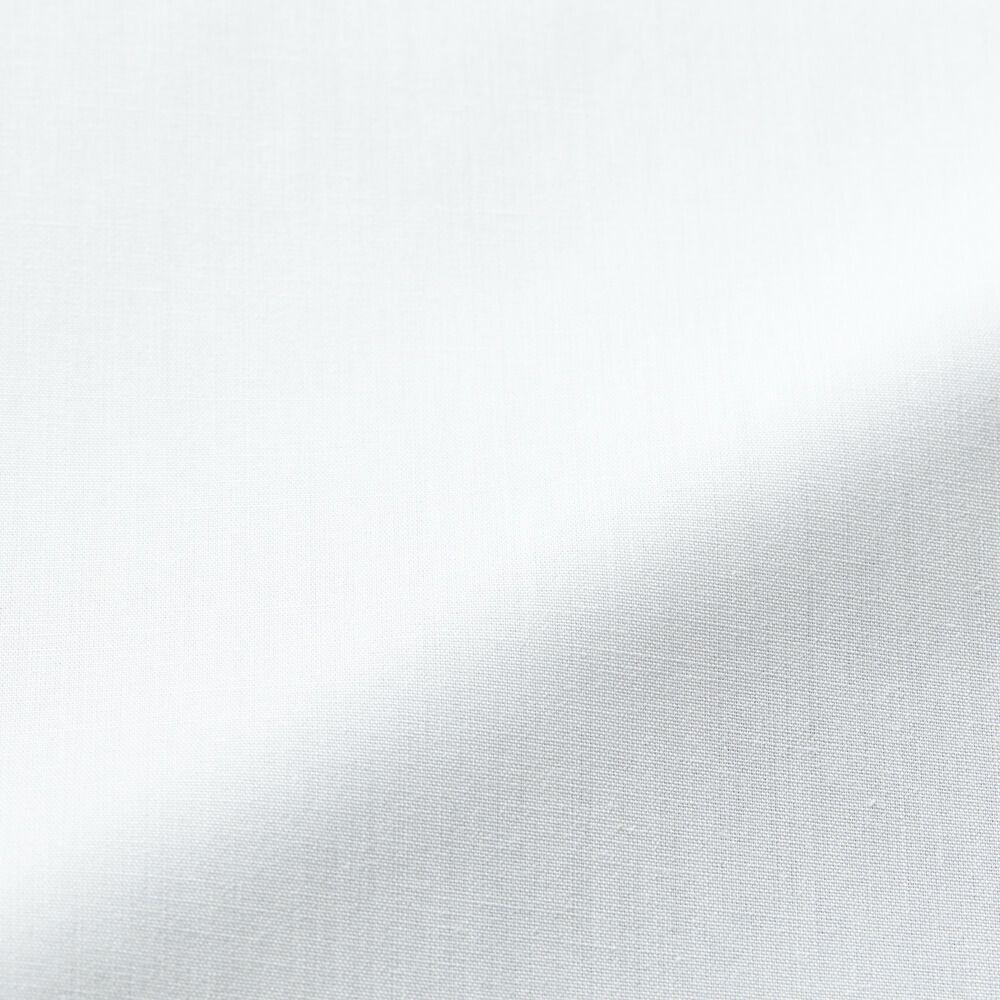 フルダルストレッチブロード生地アップ画像(透けにくくマットな質感)