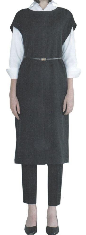 エレガントな着用スタイル(ベルトは付属しません。)