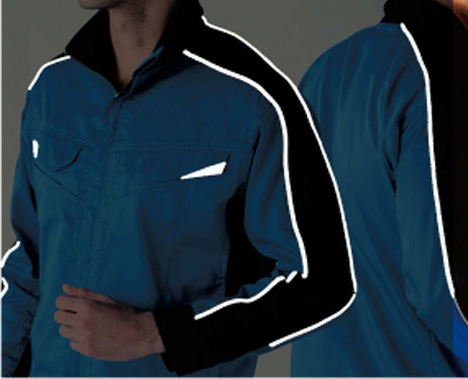 反射素材(胸・肩袖ライン)