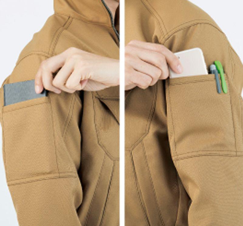 両袖マルチポケット