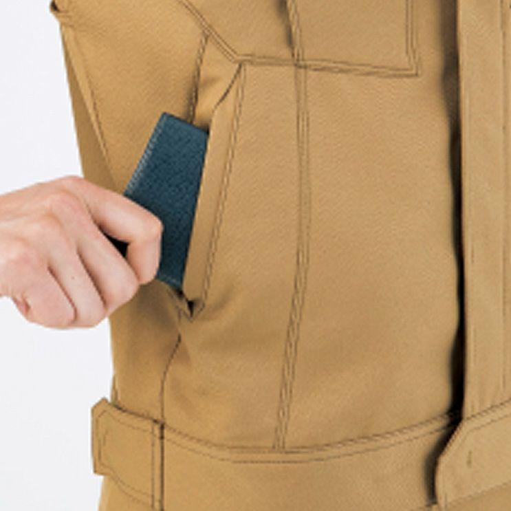脇逆玉大容量ポケット