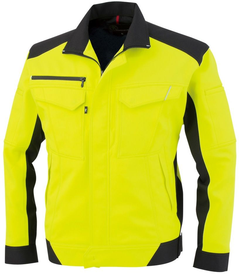 フラッシュイエロー#21※高視認性安全服の(JIST8127)適合規格ではありません。