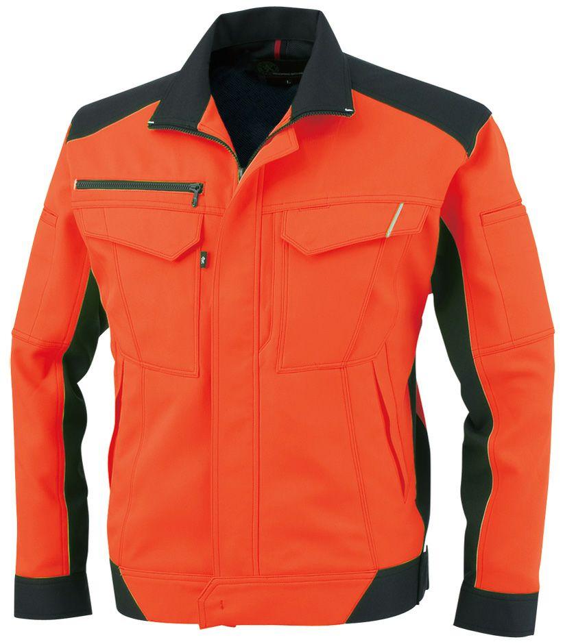 フラッシュオレンジ#22※高視認性安全服の(JIST8127)適合規格ではありません。