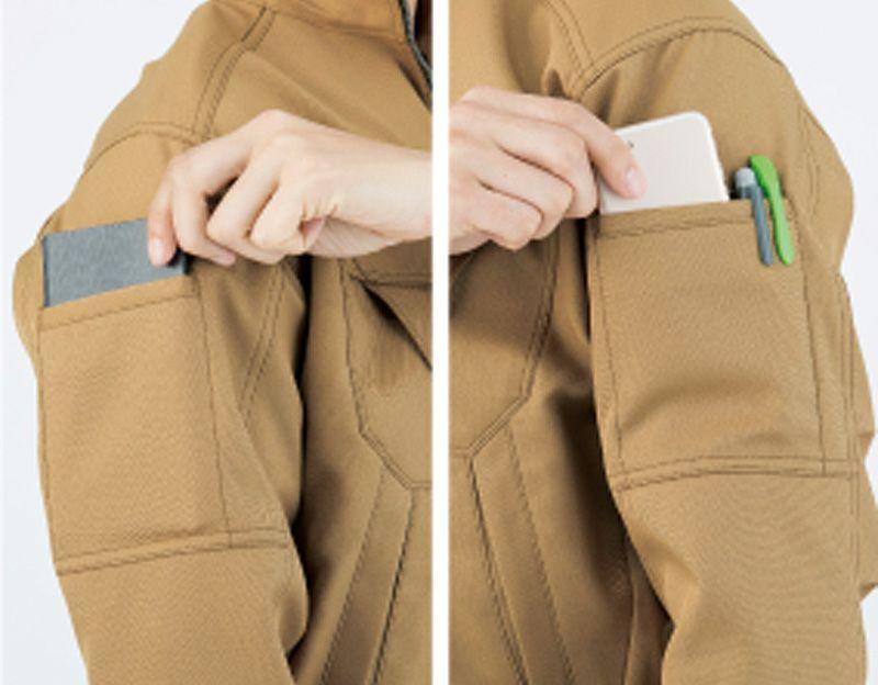 両脇マルチポケット