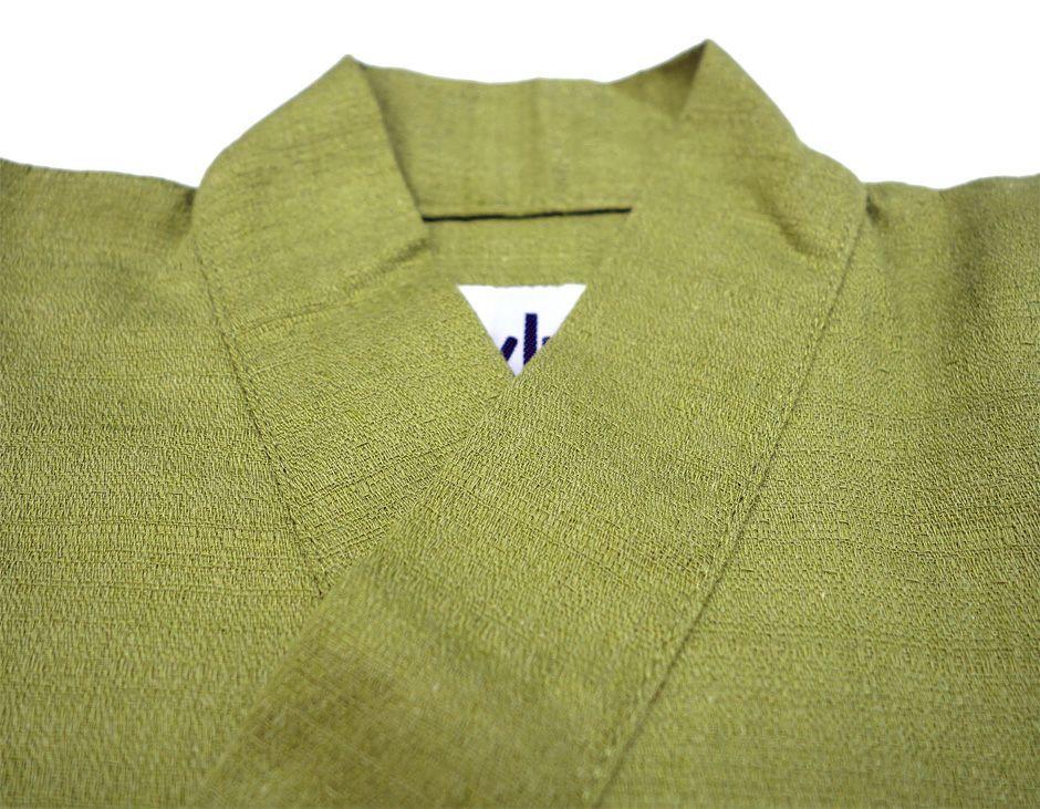 衿部分のアップ写真